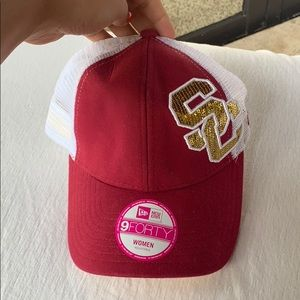 USC Glitter Women's Hat. New with Tags!